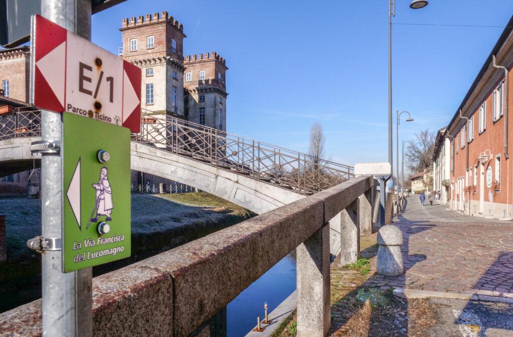 Lombardia a piedi: dal confine con la Svizzera a Pavia lungo la via Francisca