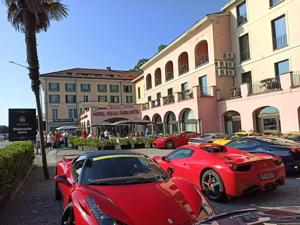 Passione Rossa, week end a Villa Carlotta